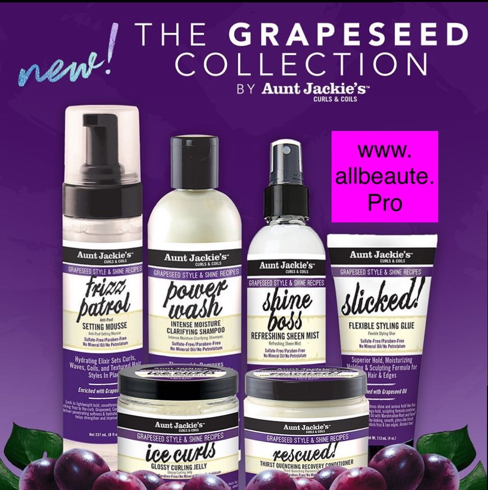 Aunt Jackie's Grapeseed