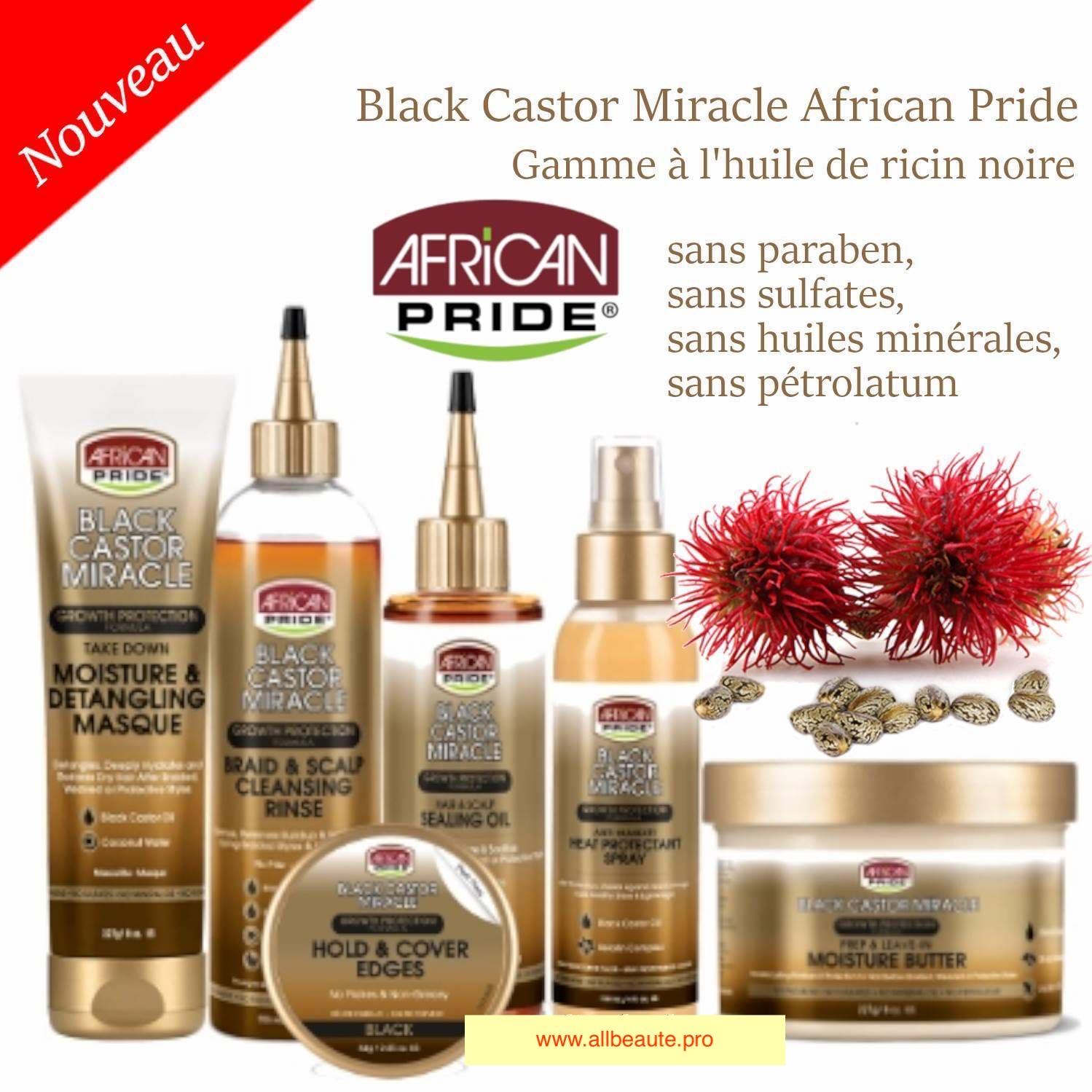 African Pride Black Castor Miracle